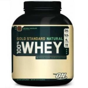 Протеин Optimum Nutrition 100% Natural Whey Gold 2,268 кг