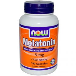 Мелатонин NOW Melatonin 180 капсул
