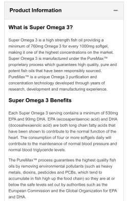 Myprotein Super Omega 3 1000 mg 90 кап