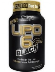 Жиросжигатель Nutrex Research Lipo 6 Black Hers (Липо 6 Блэк Хёрс) 120 капсул