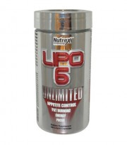 Жиросжигатель Nutrex Research Lipo 6 Unlimited 120 капсул