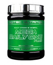 Комплекс мультивитаминов и минералов Scitec Nutrition Mega Daily One Plus 120 капсул