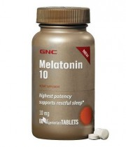 Мелатонин GNC Melatonin 10 60 таблеток