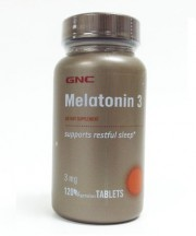 Мелатонин GNC Melatonin 3 120 таблеток