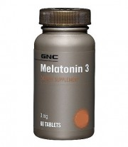Мелатонин GNC Melatonin 3 60 таблеток