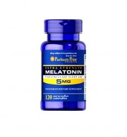 Мелатонин Puritan's Pride Melatonin 5 mg 120 капсул