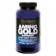 Аминокислоты Ultimate Nutrition Amino Gold 1000 мг 250 капсул