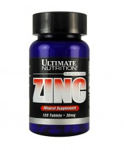 Цинк Ultimate Nutrition Zinс 120 капсул