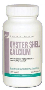 Кальций Universal Nutrition Oyster Shell Calcium 100 капсул
